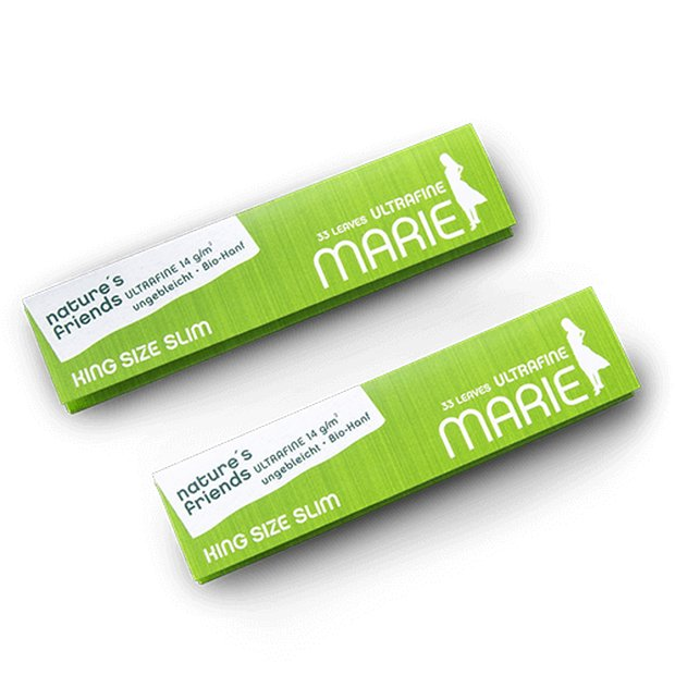 Marie Natures Friends King Size Slim Papers