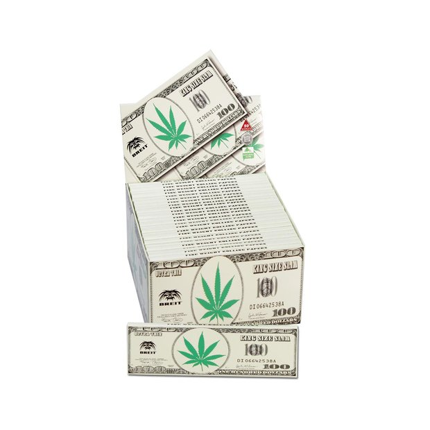 Breit 100 Dollar King Size Papers BOX